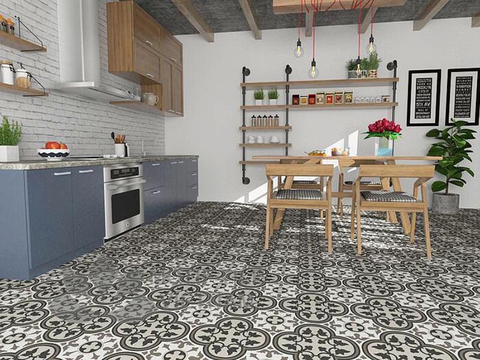 20 mẫu gạch bông trang trí biến tấu không gian nội thất-3