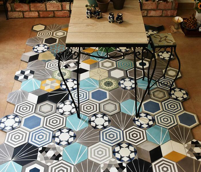 20 mẫu gạch bông trang trí biến tấu không gian nội thất-4