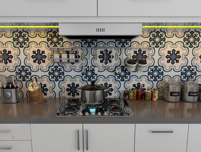 20 mẫu gạch bông trang trí biến tấu không gian nội thất-8