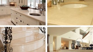 Đá crema marfil điểm nhấn cho mọi công trình hiện đại
