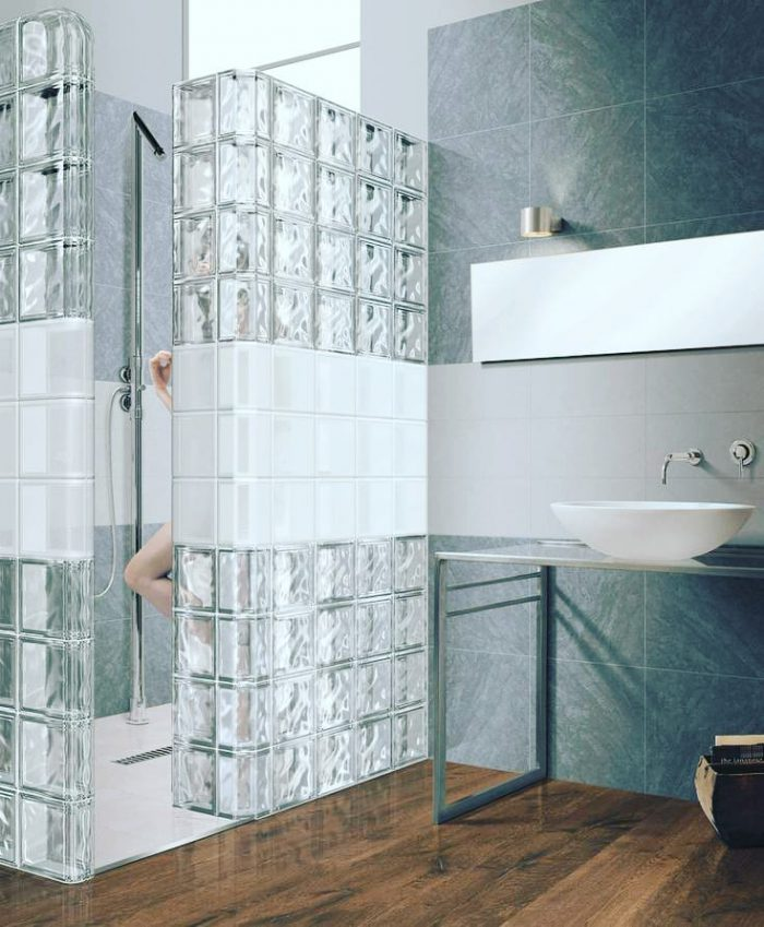 Gạch kính làm mới không gian theo phong cách kiến trúc hiện đại