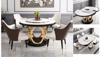 Giới thiệu 25 mẫu bàn ăn thông minh dịp tết 2020