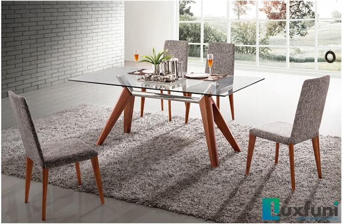Những xu hướng thiết kế bộ bàn ăn cao cấp thịnh hành hiện nay 5