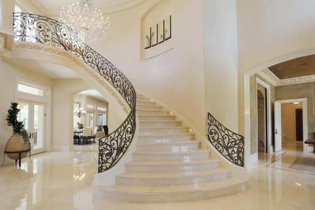 Ứng dụng của đá crema marfil trong kiến trúc nhà ở hiện đại-5
