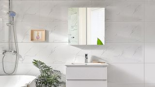 Gương toilet: 4 giải pháp cho nhà vệ sinh nhỏ
