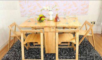 Thông tin cần nắm trước khi chọn bàn ăn thông minh gỗ tự nhiên