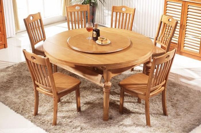 Thông tin cần nắm trước khi chọn bàn ăn thông minh gỗ tự nhiên 4