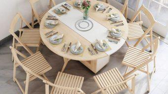 Tìm hiểu về các loại bộ bàn ghế ăn thông minh phổ biến