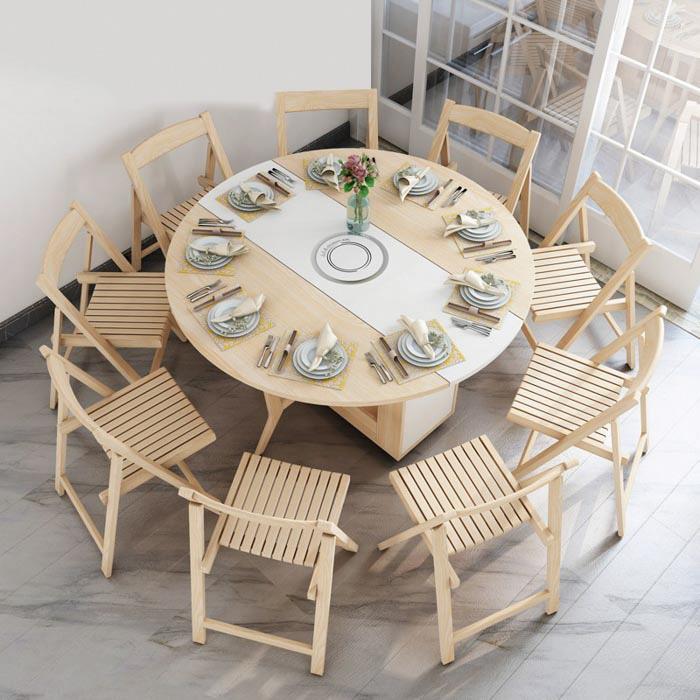 Tìm hiểu về các loại bộ bàn ghế ăn thông minh phổ biến-11