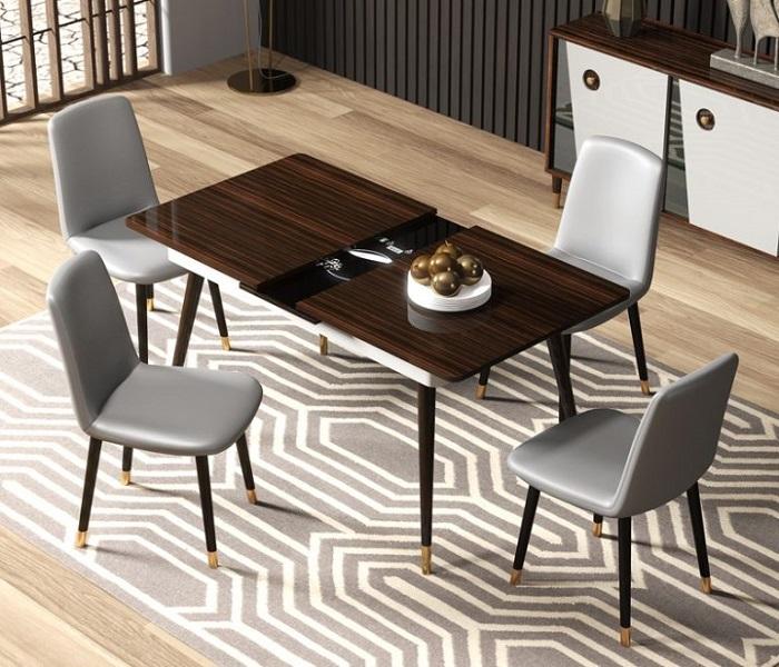 Tìm hiểu về các loại bộ bàn ghế ăn thông minh phổ biến-3