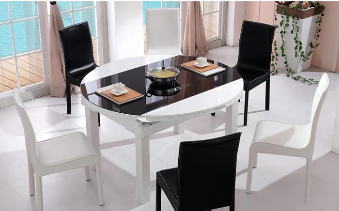 Tìm hiểu về các loại bộ bàn ghế ăn thông minh phổ biến-4
