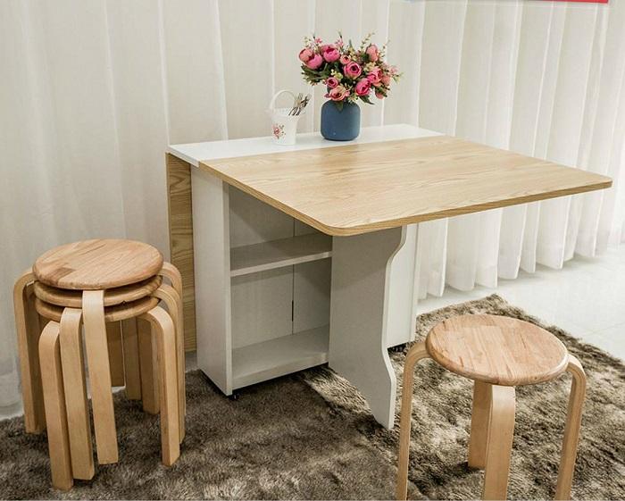 Tìm hiểu về các loại bộ bàn ghế ăn thông minh phổ biến-8