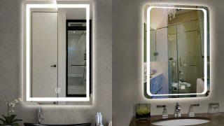 Tuyệt chiêu lựa chọn gương phòng tắm hiện đại, đẳng cấp