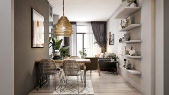 Bàn ăn thông minh xếp gấp SIÊU GỌN cho căn hộ chật hẹp