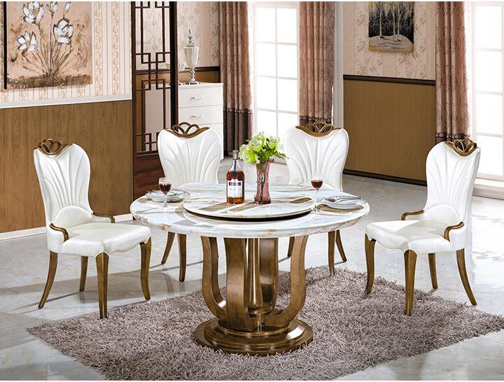 Cách bố trí bàn ăn hình tròn hợp phong thủy-6