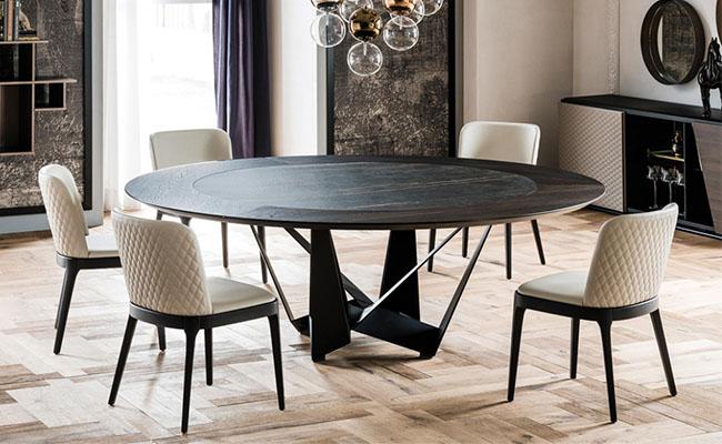Cách bố trí bàn ăn hình tròn hợp phong thủy-7