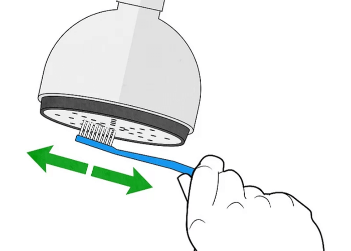 Cách làm sạch vòi sen nóng lạnh trong nháy mắt-2