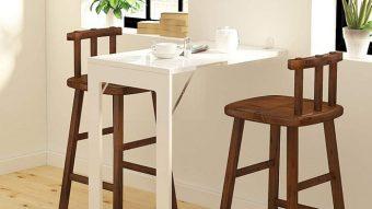 Điểm danh 10 bộ bàn ăn xếp gọn thông minh cho diện tích nhà nhỏ