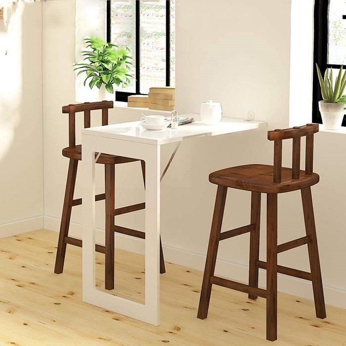Điểm danh 10 bộ bàn ăn xếp gọn thông minh cho diện tích nhà nhỏ-5