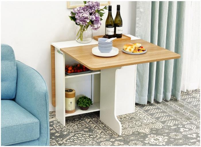 Điểm danh 10 bộ bàn ăn xếp gọn thông minh cho diện tích nhà nhỏ-8