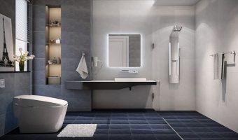 Một số lưu ý về phong thủy khi treo gương toilet