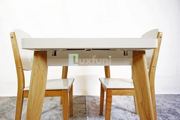 Những điểm cộng tuyệt vời của bàn ăn gỗ mặt đá-4