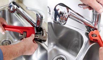 Quy trình sửa vòi nước bồn rửa mặt đúng cách