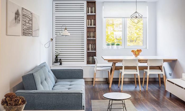Cách bày trí bộ bàn ăn cho chung cư cực bắt mắt-5