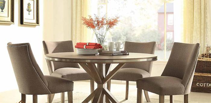 Giới thiệu 15+ mẫu bàn ăn tròn bằng gỗ đang được săn đón-1