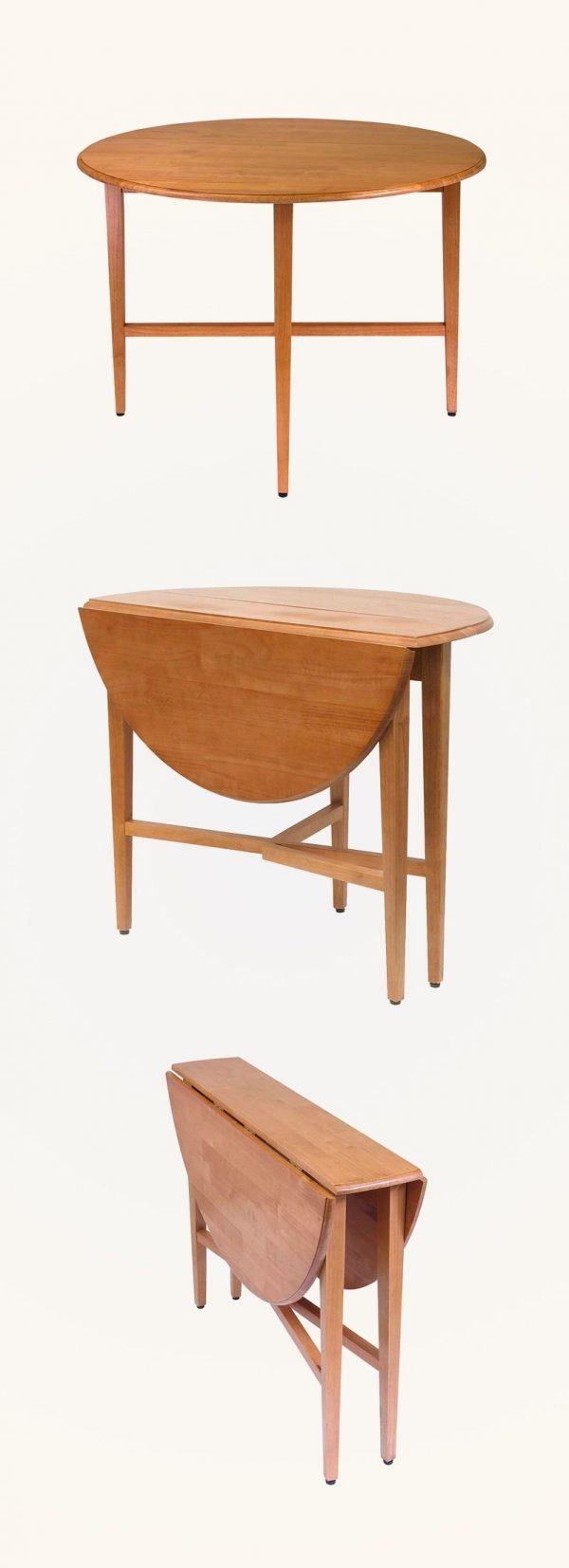 Giới thiệu 15+ mẫu bàn ăn tròn bằng gỗ đang được săn đón-15