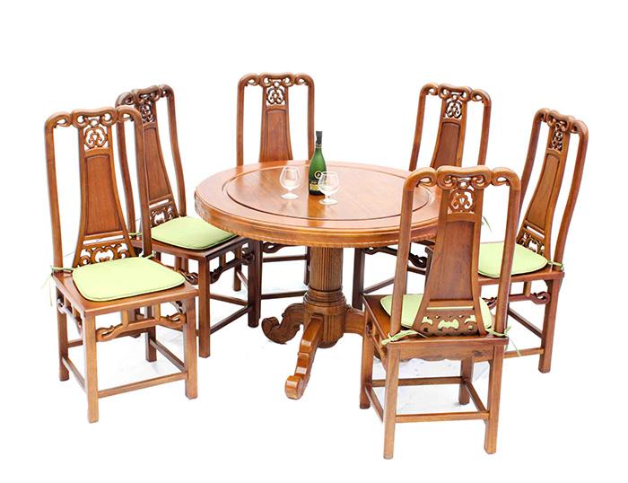 Giới thiệu 15+ mẫu bàn ăn tròn bằng gỗ đang được săn đón-2