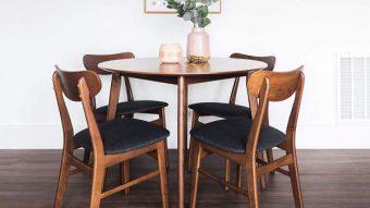 Giới thiệu 15+ mẫu bàn ăn tròn bằng gỗ đang được săn đón [2020]