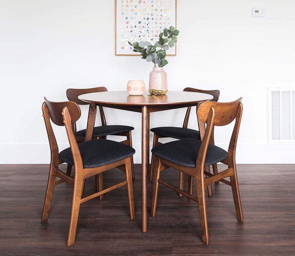 Giới thiệu 15+ mẫu bàn ăn tròn bằng gỗ đang được săn đón-9