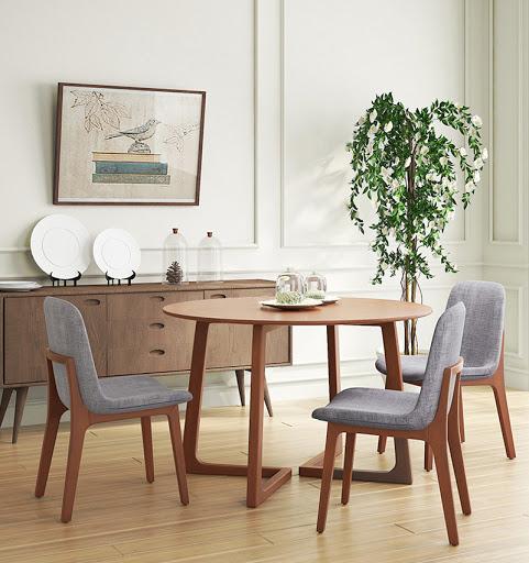 Giới thiệu 15+ mẫu bàn ăn tròn bằng gỗ đang được săn đón