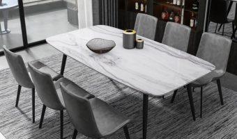 Kinh nghiệm lựa chọn bàn ăn đẹp mặt đá phù hợp