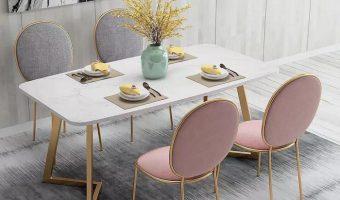 5 Tiêu chí để chọn được ghế bàn ăn đẹp ai cũng cần phải biết