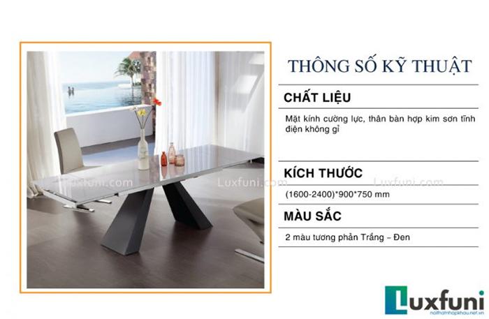 Đánh giá bộ bàn ăn thông minh mặt kính T839-1