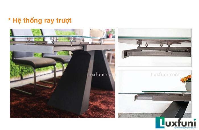 Đánh giá bộ bàn ăn thông minh mặt kính T839-3