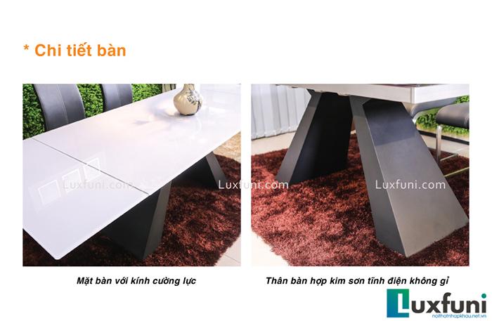 Đánh giá bộ bàn ăn thông minh mặt kính T839-4