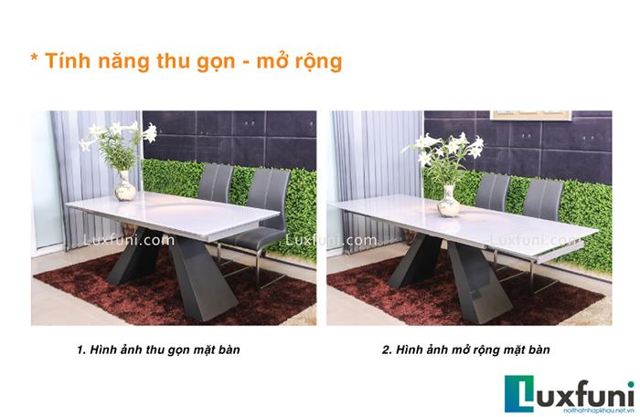 Đánh giá bộ bàn ăn thông minh mặt kính T839-5