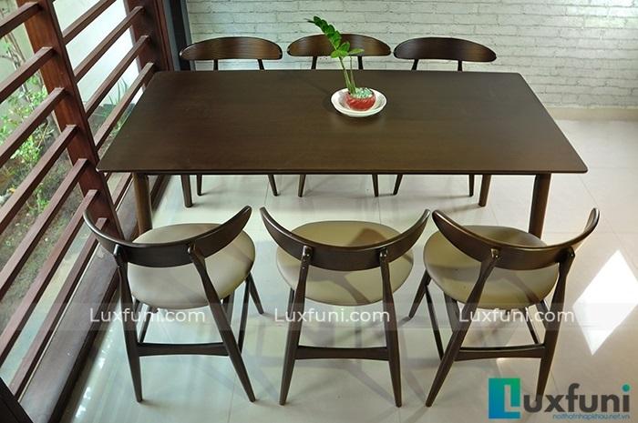 Điểm danh những mẫu bàn ăn đẹp bằng gỗ tự nhiên-1