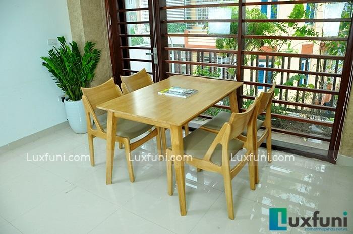 Điểm danh những mẫu bàn ăn đẹp bằng gỗ tự nhiên-2