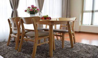 Điểm danh những mẫu bàn ăn đẹp bằng gỗ tự nhiên