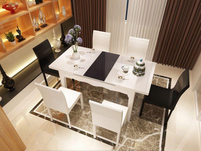 Kinh nghiệm chọn mua bàn ăn đẹp hiện đại chất lượng cao-2