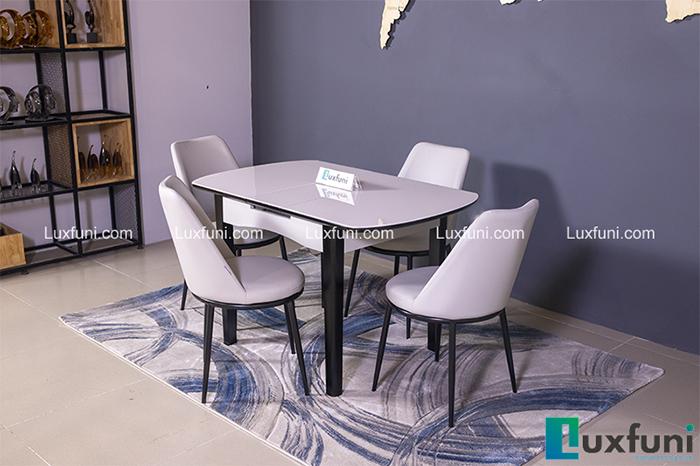Mẫu bàn ăn đẹp cho chung cư 4 ghế được yêu thích nhất 2020-3
