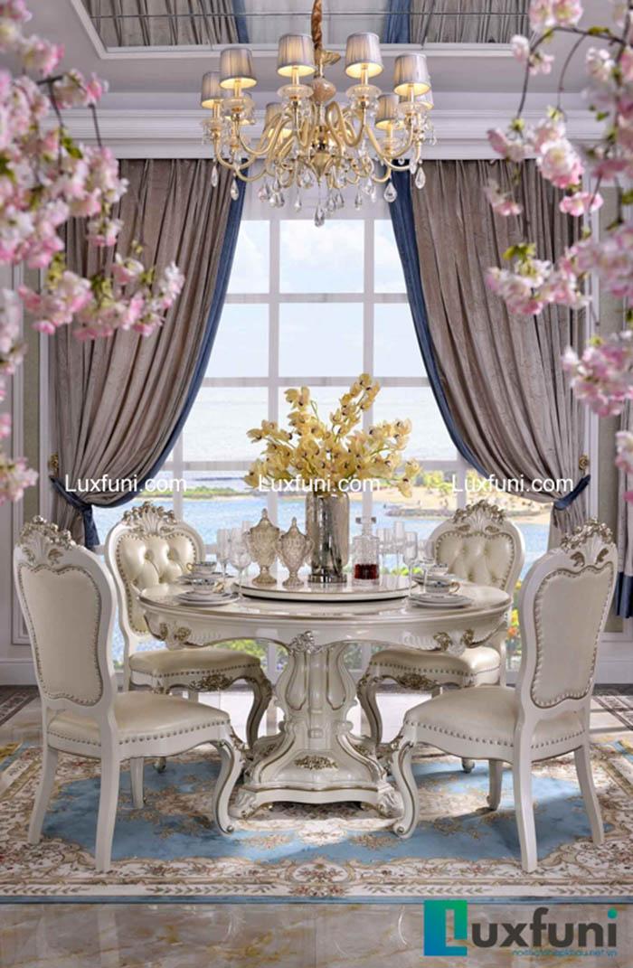 Mẫu bàn ăn đẹp cho chung cư 4 ghế được yêu thích nhất 2020-5