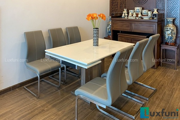 Những bộ bàn ăn 6 ghế hiện đại và đẹp mắt-1