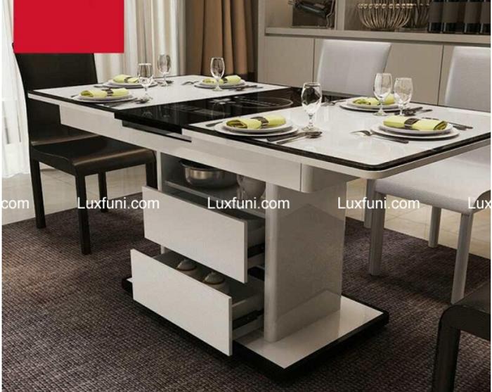 Những bộ bàn ăn 6 ghế hiện đại và đẹp mắt-5