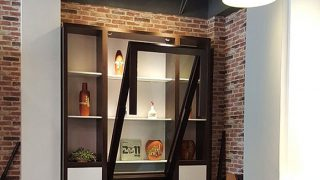Những mẫu bàn ăn thông minh kết hợp tủ rượu đẹp
