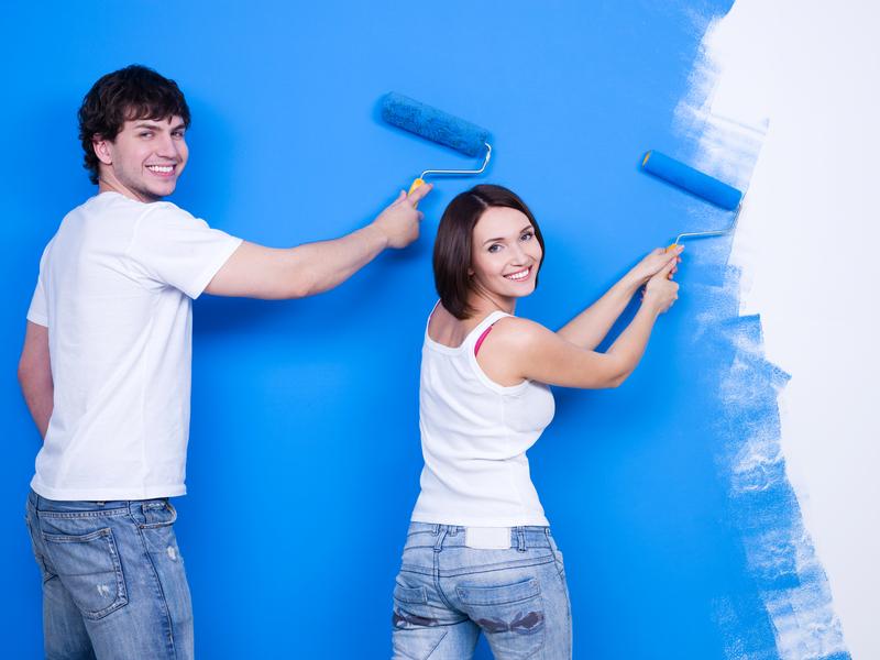 Quy trình thi công sơn tường nhà đúng chuẩn